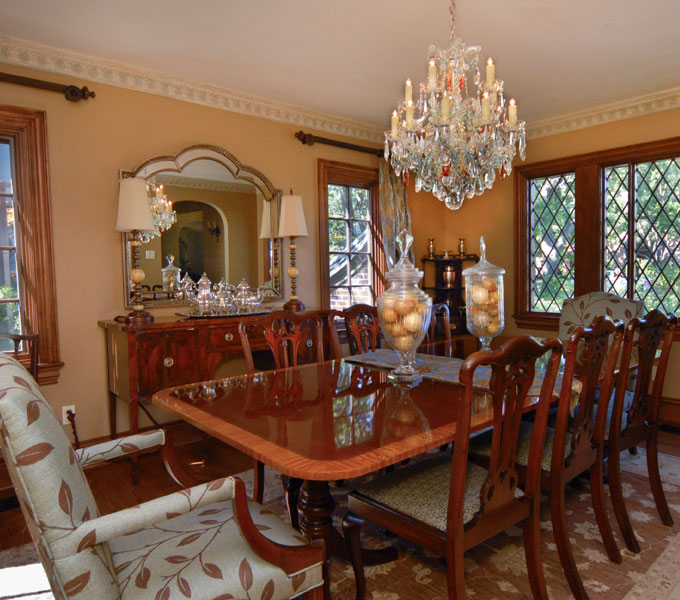 Photo of Updated dining room.