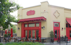 A french bistro in Allen, Texas