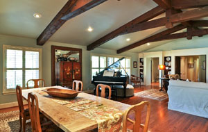 Picture of rennovated dining room - Architect Greg Lorie