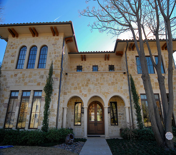Photo Of Front Exterior Tuscan Style ...